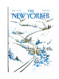 The New Yorker Cover - December 8  1986