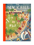 The New Yorker Cover - February 18  1928