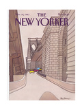 The New Yorker Cover - November 14  1983