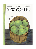 The New Yorker Cover - November 16  1981