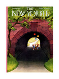 The New Yorker Cover - August 9  1947