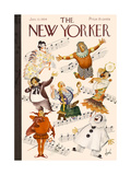The New Yorker Cover - January 13  1934