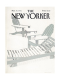 The New Yorker Cover - March 24  1986