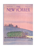 The New Yorker Cover - December 19  1983