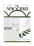 The New Yorker Cover - July 14  1980