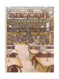 The New Yorker Cover - January 9  1984