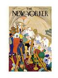 The New Yorker Cover - February 22, 1941 Giclée premium par Alain