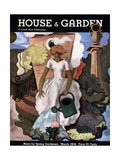 House & Garden Cover - March 1934