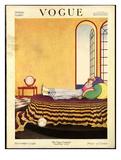 Vogue Cover - December 1918 Giclée premium par George Wolfe Plank