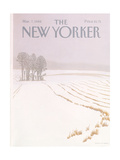 The New Yorker Cover - March 7  1988