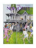 The New Yorker Cover - August 17  1981
