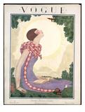 Vogue Cover - June 1925 Giclée premium par Georges Lepape
