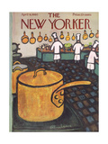 The New Yorker Cover - April 9, 1960 Giclée premium par Abe Birnbaum