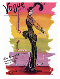 Vogue Cover - September 1939 - Parisian Rainbow Giclée premium par Christian Berard