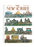 The New Yorker Cover - June 24  1972
