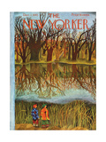 The New Yorker Cover - December 1  1945
