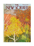 The New Yorker Cover - October 22  1973