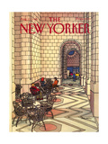 The New Yorker Cover - August 12  1985