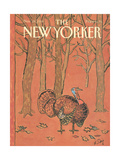 The New Yorker Cover - November 28  1988