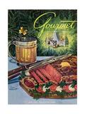 Gourmet Cover - June 1949