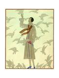 Vogue - February 1926 Giclée premium par André E. Marty