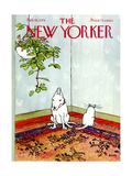 The New Yorker Cover - February 16  1976