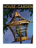 House & Garden Cover - August 1936