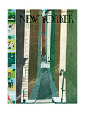 The New Yorker Cover - July 5  1947