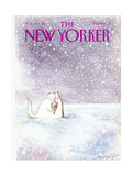 The New Yorker Cover - February 8  1988