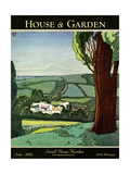 House & Garden Cover - July 1929