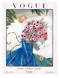 Vogue Cover - June 1923 Giclée premium par Georges Lepape