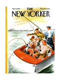 The New Yorker Cover - January 8  1949