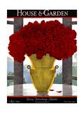 House & Garden Cover - May 1924 Giclée premium par André E. Marty