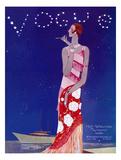 Vogue Cover - July 1926 - Flapper Nights Reproduction d'art par Eduardo Garcia Benito