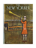 The New Yorker Cover - October 27, 1956 Giclée premium par Abe Birnbaum