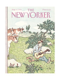 The New Yorker Cover - August 13  1984