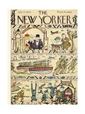 The New Yorker Cover - July 15  1944