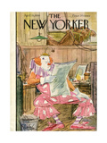 The New Yorker Cover - April 15  1950