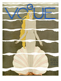 Vogue Cover - July 1931 - Venus Reproduction d'art par Georges Lepape