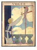 Vogue Cover - July 1919 Giclée premium par Georges Lepape