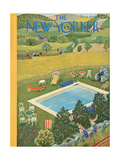 The New Yorker Cover - August 10  1946