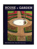 House & Garden Cover - March 1932