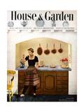 House & Garden Cover - February 1950