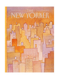 The New Yorker Cover - April 27  1981