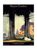 House & Garden Cover - August 1917