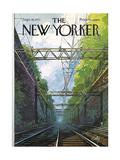 The New Yorker Cover - September 18, 1971 Giclée premium par Arthur Getz