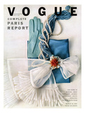 Vogue Cover - March 1951 - Got the Blues Giclée premium par Richard Rutledge