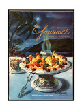 Gourmet Cover - August 1954
