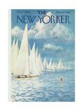 The New Yorker Cover - June 13, 1959 Giclée premium par Arthur Getz