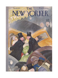 The New Yorker Cover - January 16  1937